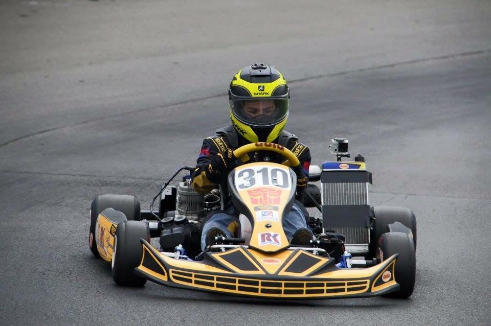 Team TPX is klaar voor ronde 5 GK4 kartseries