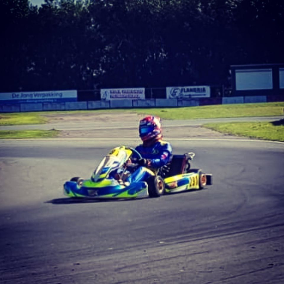 Practice @ Kart Trak Strijen  21 September 2019